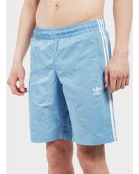 adidas Originals - 3 Stripe Swim Shorts - Lyst