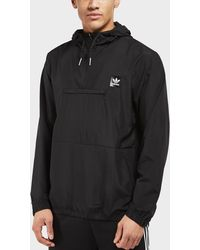 adidas Originals - Half Zip Hip Lightweight Jacket - Lyst