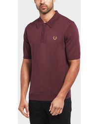 Fred Perry - X Miles Kane Short Sleeve Polo Shirt - Exclusive - Lyst