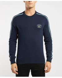 Lacoste - Heritage Knitted Jumper - Lyst