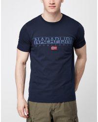Napapijri - Crew Neck T-shirt - Lyst