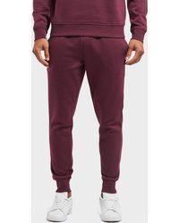 Lacoste - Slim Cuffed Fleece Track Pants - Lyst
