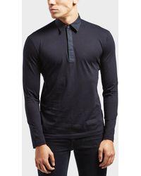 Antony Morato - Long Sleeve Polo Shirt - Lyst