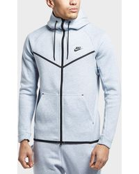 f9f0ebc24785 Lyst - Nike Tech Fleece Windrunner Hoody in Blue for Men