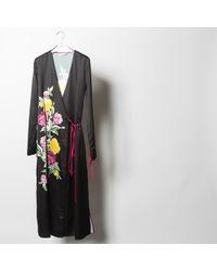 Attico - Grace Floral Robe - Lyst