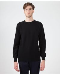 Sefton | Knitted Lambswool Jumper | Lyst