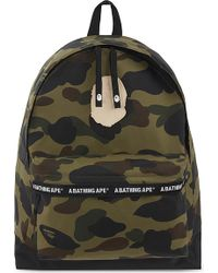 A Bathing Ape - 1st Camo Day Nylon Backpack - Lyst