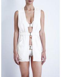 La Perla - Corniche Sahariana Stretch-silk Jacket - Lyst