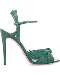 Gucci - Allie Leather High-heel Sandals - Lyst