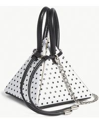 Nita Suri - Polka Dot Pyramid Bag - Lyst