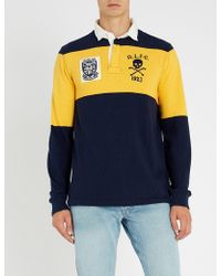 Polo Ralph Lauren - Rugby-inspired Knitted Polo Shirt - Lyst