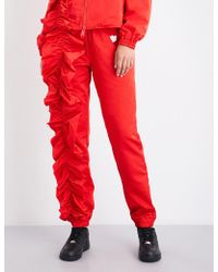 Nicopanda - Park Jog Skinny High-rise Shell Trousers - Lyst