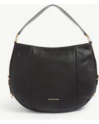 b271adbb3c2f0 MICHAEL Michael Kors Mercer Large Leather Tote Bag in Black - Lyst