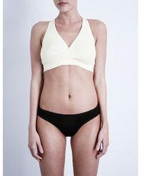 Amoralia - Second Skin Cotton-jersey Nursing Bra - Lyst