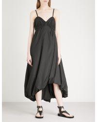 3.1 Phillip Lim - Bubble-hem Cotton-poplin Midi Dress - Lyst