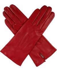 Dents | Hand-Sewn Silk-Lined Leather Gloves - For Women | Lyst