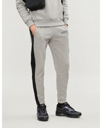 Trapstar - Side-stripe Cotton-jersey jogging Bottoms - Lyst