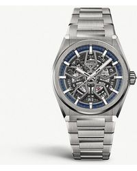 Zenith - 95.9000.670/78.m9000 Defy Classic Titanium Automatic Skeleton Watch - Lyst