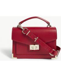 The Kooples - Ladies Burgendy Emily Mini Leather Cross-body Bag - Lyst