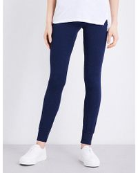 Sundry - Skinny Mid-rise Jersey Jogging Bottoms - Lyst