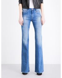 M.i.h Jeans - Marrakesh Flared High-rise Jeans - Lyst