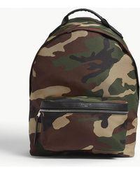 Sandro - Camouflage Nylon Backpack - Lyst