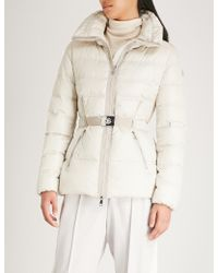 Moncler - Alouette Quilted Shell-down Coat - Lyst