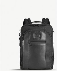 Tumi - Davis Nylon And Leather Backpack - Lyst
