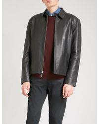 Polo Ralph Lauren - Maxwell Leather Jacket - Lyst