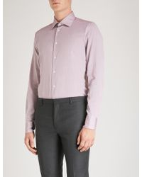 Richard James - Contemporary-fit Cotton Shirt - Lyst