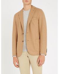 Eleventy - Regular-fit Wool-blend Jacket - Lyst