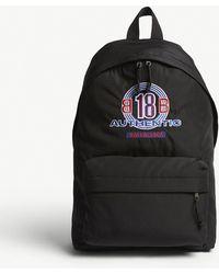 Balenciaga - Explorer Authentic Logo Canvas Backpack - Lyst