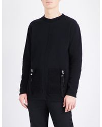 Blood Brother - Hunt Cotton-jersey Jumper - Lyst