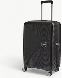 American Tourister - Soundbox Expandable Four-wheel Suitcase 67cm - Lyst