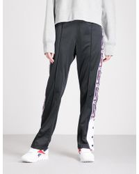 Champion - Logo-taped Jersey Jogging Bottoms - Lyst