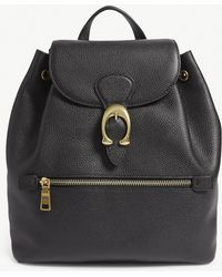 COACH - Evie Grained Leather Backpack - Lyst