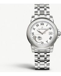 Carl F. Bucherer - 00.10616.08.21.21 Petravi Autodate Power Automatic Stainless Steel Watch - Lyst