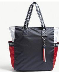 Tommy Hilfiger - Tommy Jeans Logo-detailed Tote Bag - Lyst
