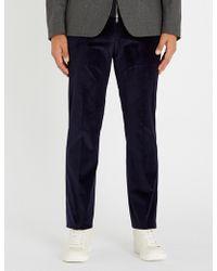 Gieves & Hawkes - Onslow Regular-fit Corduroy Trousers - Lyst
