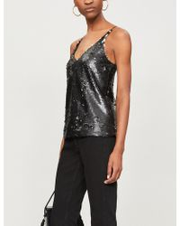 J Brand - Lucy Sequinned Camisole Top - Lyst
