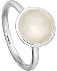 Astley Clarke - Stilla Sterling Silver Moonstone Ring - Lyst