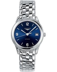Longines - L47744966 Flagship Heritage Stainless Steel Watch - Lyst