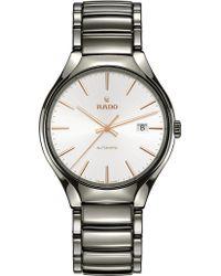 Rado - R27057112 True Automatic Ceramic Watch - Lyst