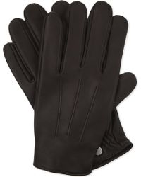 Sandro - H17 Classic Leather Gloves - Lyst