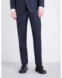 Richard James - Regular-fit Wool And Mohair-blend Trousers - Lyst