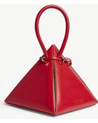 28858acbf355 Nita Suri - Lia Pyramid Leather Handbag - Lyst