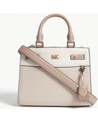 MICHAEL Michael Kors | Gramercy Leather Mini Messenger Bag | Lyst