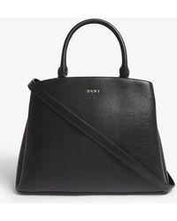 DKNY - Paige Large Leather Satchel - Lyst