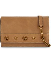 Mo&co. - Rose And Star Leather Shoulder Bag - Lyst
