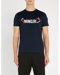 Moncler - Logo Print T-shirt - Lyst